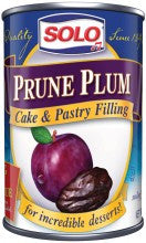Solo Prune Plum Filling, 12 oz (340g) - Parthenon Foods