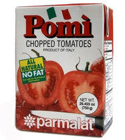 Pomi Chopped Tomatoes 750g - Parthenon Foods