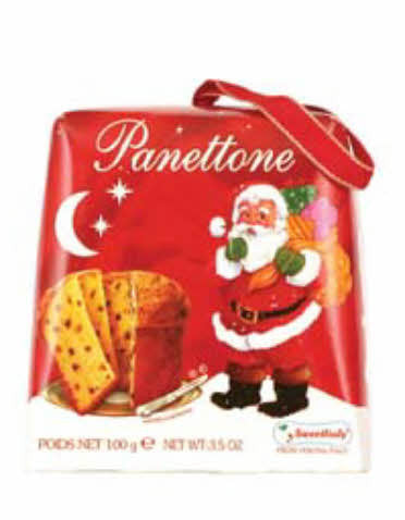 Panettone Mini, Red (Sweet Italy) 100g - Parthenon Foods