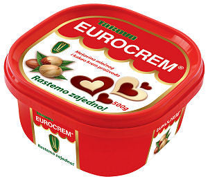 Eurocrem Hazelnut Milk and Cocoa Spread  500g - Parthenon Foods