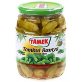Whole Round Okra in Brine (TAMEK) 670g - Parthenon Foods