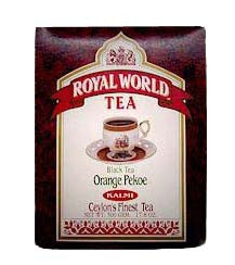 Black Tea Orange Pekoe, Loose (Royal World) 500g - Parthenon Foods