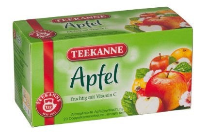 Apple Fruit Tea (Teekanne) 20 tea bags - Parthenon Foods