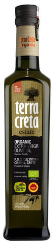 Organic Extra Virgin Olive Oil from Crete, 500ml (16.9 fl.oz.) - Parthenon Foods