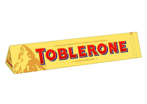 Toblerone Milk Chocolate, 12.6 oz (360g) - Parthenon Foods