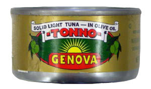 Genova Tuna in Olive Oil, 85g (3oz) - Parthenon Foods