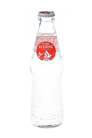 Uludag Gazoz Fruit Soft Drink, 250ml glass - Parthenon Foods