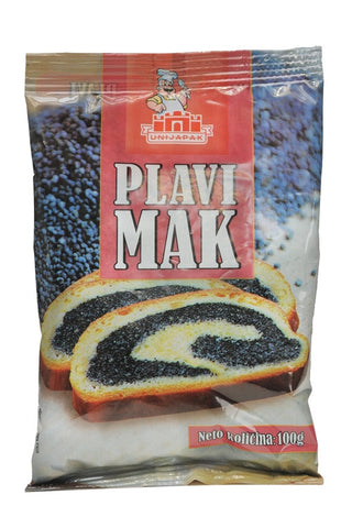 Blue Poppy Seeds-MAK, 100g (3.5 oz) - Parthenon Foods