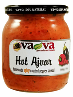 Home Made Ajvar-HOT (Vava) 19oz (540g) - Parthenon Foods
