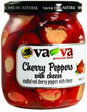 Cherry Peppers Stuffed with Cheese (Vava) 540g - Parthenon Foods