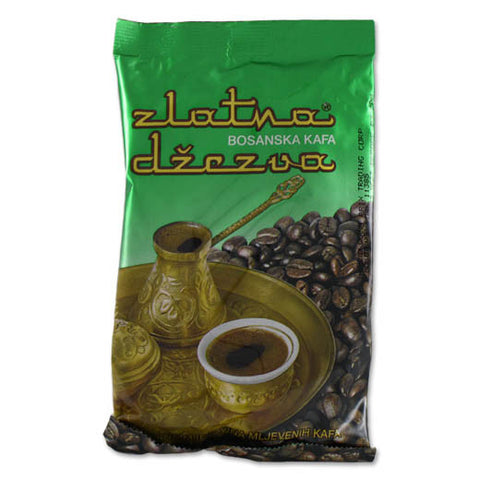 Bosnian Ground Coffee-Zlatna Dzezva (Vispak) 100g - Parthenon Foods