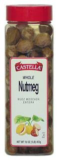 Nutmeg, Whole, 8oz - Parthenon Foods