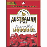 Wiley Wallaby Australian Style RED Licorice Candy, 10 oz bag - Parthenon Foods