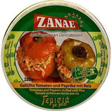 Tomato and Pepper Stuffed with Rice (zanae) 280g - Parthenon Foods