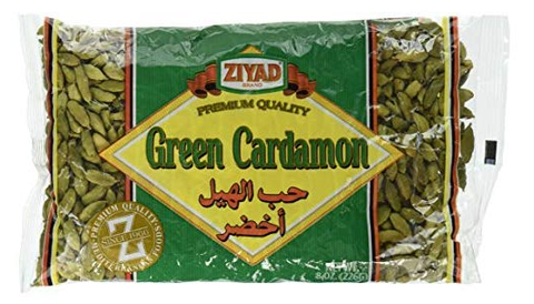 Green Cardamon, Whole, 8oz - Parthenon Foods