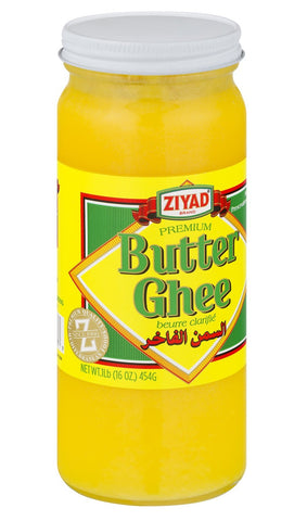 Butter Ghee, Clarified Butter, 454g (16oz) - Parthenon Foods