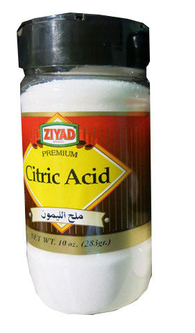 Citric Acid (Ziyad) 10oz - Parthenon Foods