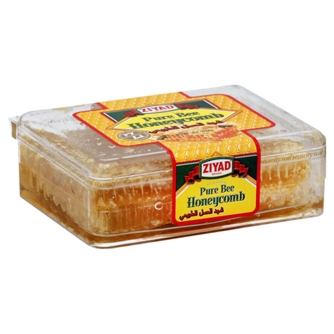 Honey Comb, Pure Bee (Ziyad) 14 oz (400g) - Parthenon Foods
