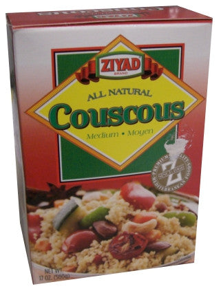 Couscous, Medium, (Ziyad) 17oz - Parthenon Foods