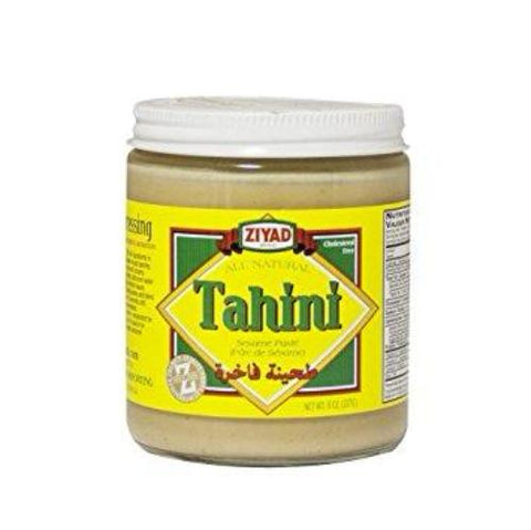 Tahini, Ground Sesame Seeds (ziyad) 8 oz - Parthenon Foods