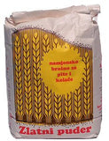 Flour for Fillo Dough(Pita) and Cookies, Zlatni Puder, 4.4lb (2kg)-Type 400 - Parthenon Foods