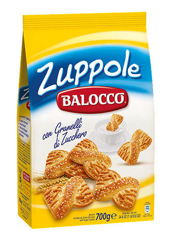 Zuppole Biscuits (Balocco) 700g (24.6 oz) - Parthenon Foods