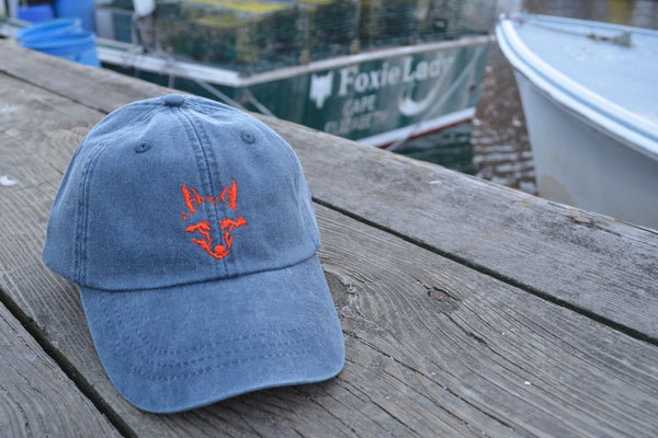 Washed Navy - Fox Cap