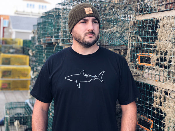 Tag Some Fin Tee - Support Shark Research!