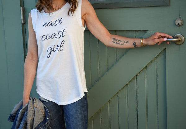 East Coast Girl Cap Sleeve