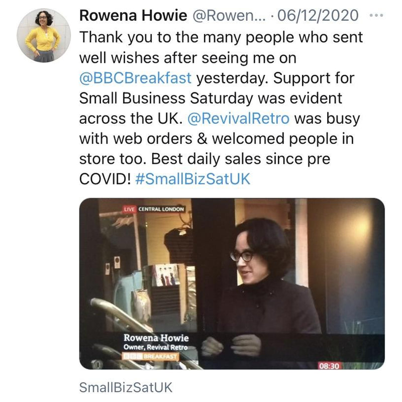 BBC Breakfast Interview on Small Business Saturday