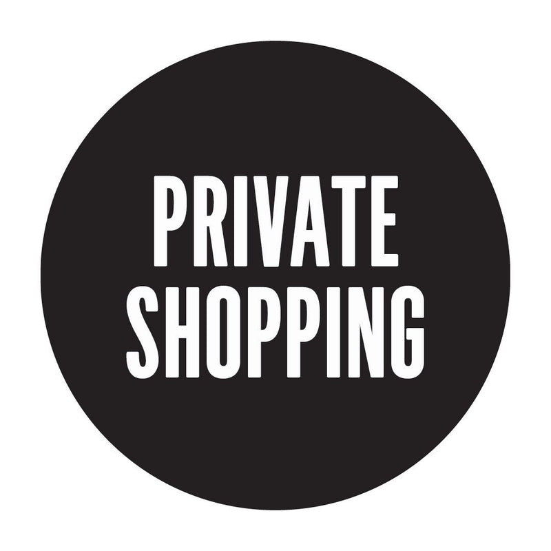 Private Shopping In-store and Online | 15th June onward