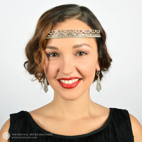 1920s Accessories - Art Deco Hairband