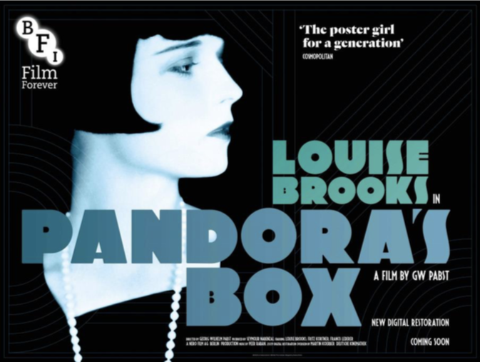 BFI Pandora's Box It Girl Classic Silent Movie
