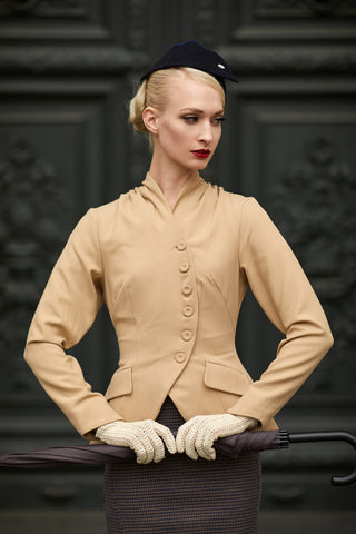 A 1940S OUTFIT FOR GOODWOOD REVIVAL