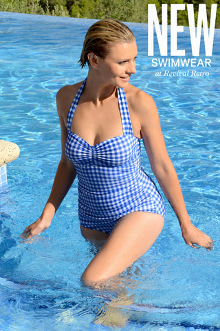 Flattering Retro Swimsuit