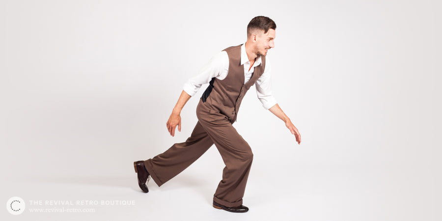 Lindy Hop Clothing Mens 1940s Trousers Tops More Revival Retro