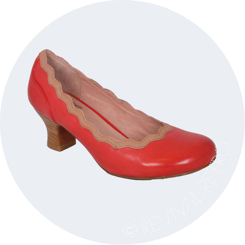 Miz Mooz London Stockist Retro Style Shoe Tess