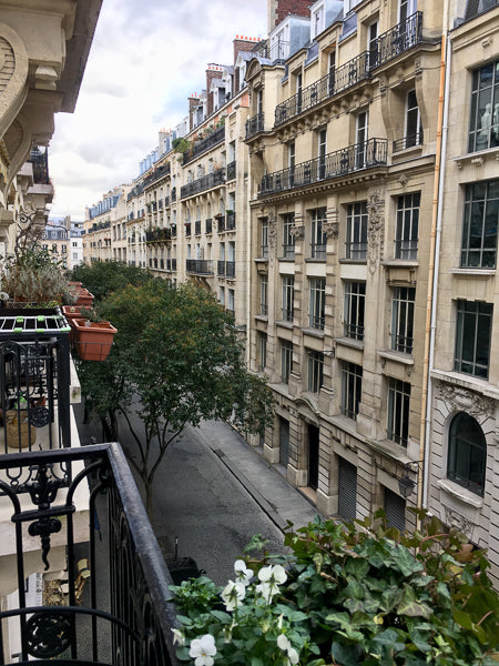 Perfect view from my Paris hotel room