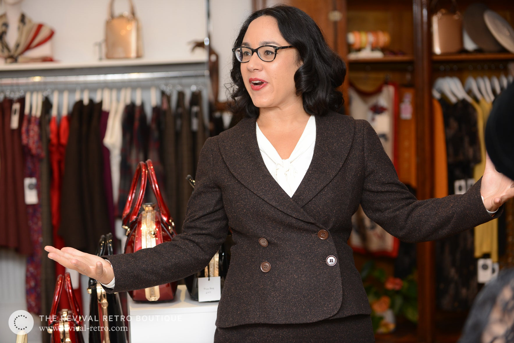 London designer of jackets for curvy women