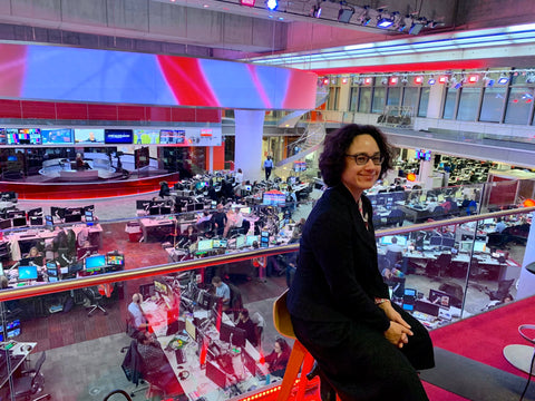 Rowena at BBC News for Small Business Saturday