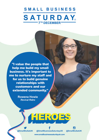 Small Business Saturday Local Hero Rowena Howie