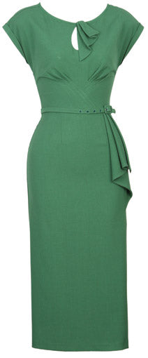 Smart Casual Dress Green