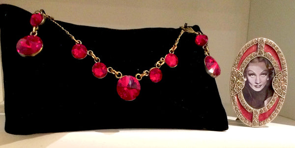 Art Deco Ruby