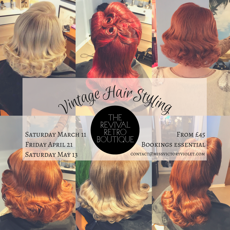 Vintage Hair Styling London