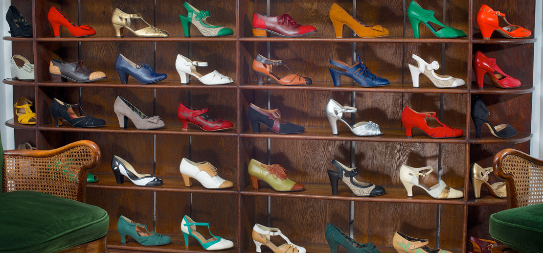 Vintage Style Shoes at Revival Retro Boutique