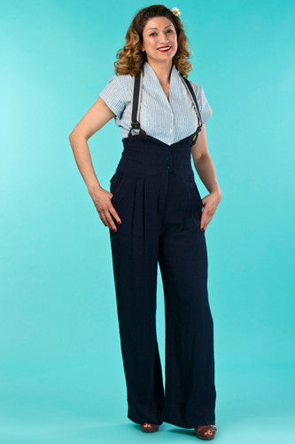 vintage style trousers summer