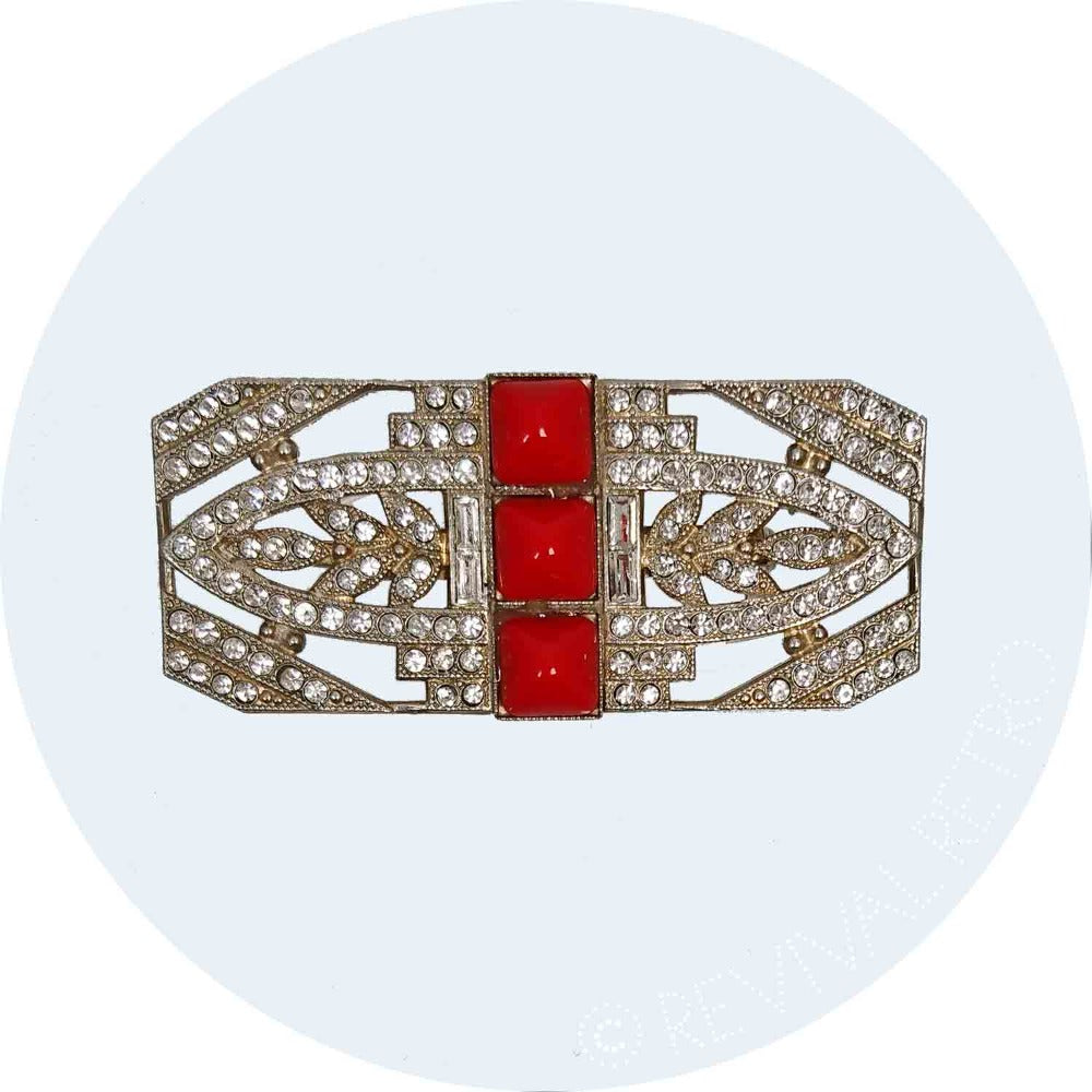 Art Deco Jewellery | Fitzgerald Brooch