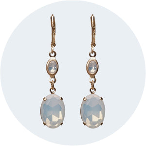 Elegant Short Drop Earrings | Camilla