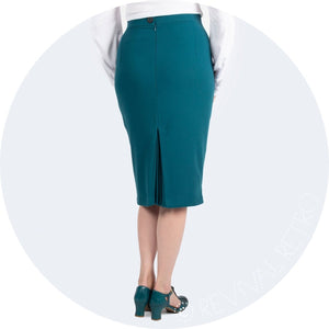 pencil skirt for curves