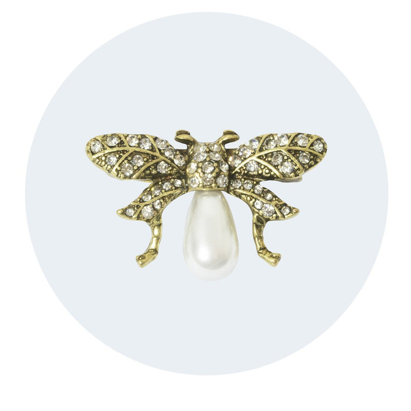 Vintage Style Brooch | Bumble Bee
